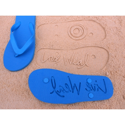 Picture of Die Cut Thongs