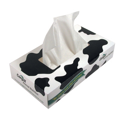 Picture of Printed Tissue Box