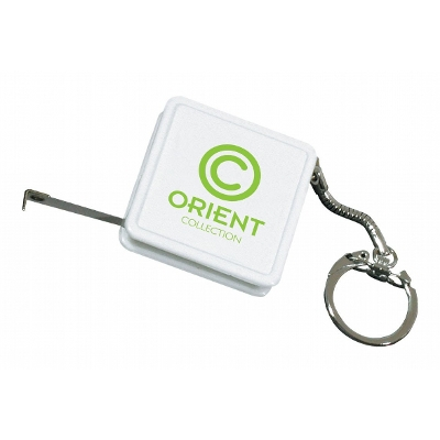 Picture of Mini Square Keyring Tape Measure 1M