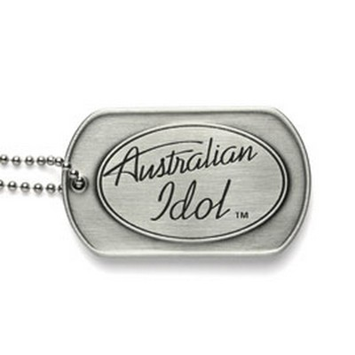 Picture of Pewter Dog Tag