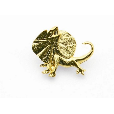 Picture of 3D Frilled Neck Lizard Souvenir lapel