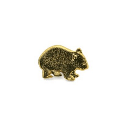 Picture of 3D Wombat Souvenir lapel pin