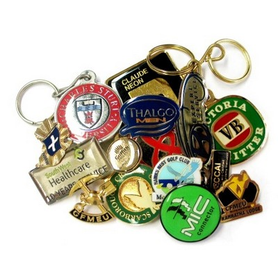 Picture of Enamelled Badge  or Key ring