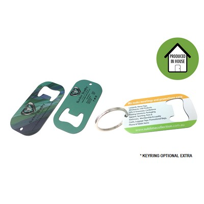 Picture of Small Bottle Opener Keyring
