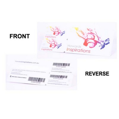 Picture of Loyalty Card with 2 small key tags