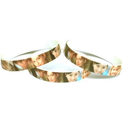 Picture of Silicone Wristband 12mm Full Colour PrintWristbands|Event Fundraising|Sporting|Ch