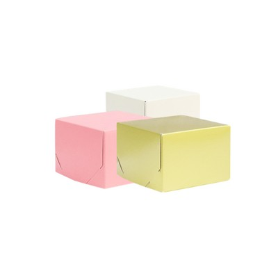 Picture of Junior Square Kraft Gift Box Coloured