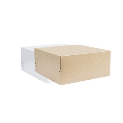 Picture of Medium Square Kraft Gift Box Natural or