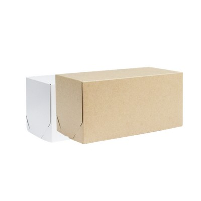 Picture of Medium Rectangle Kraft Gift Box Natural