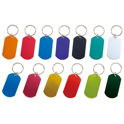 Picture of Dog Tag Key Chain Indent