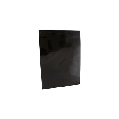 Picture of Medium Black Gloss Laminated Paper Bag