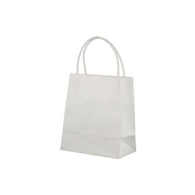 Picture of Toddler Standard White Kraft Paper Bag