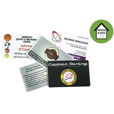 Picture of Deluxe Membership Loyalty Card with Numb
