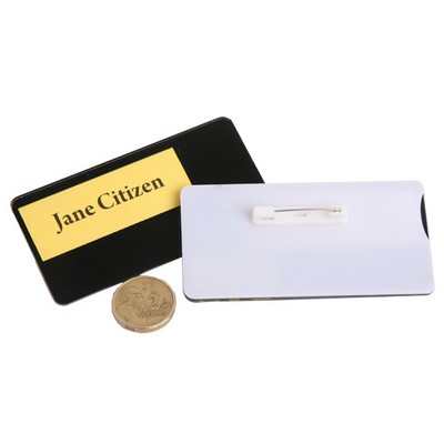 Picture of DIY Name Tag with Pin Only