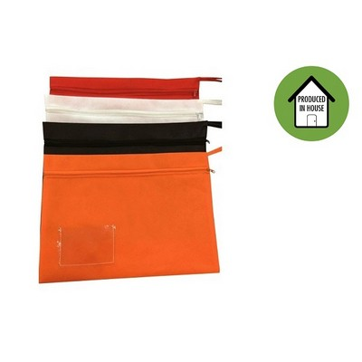 Picture of A4 Document Bag with Zip