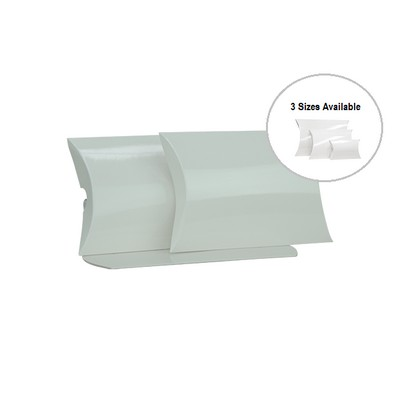 Picture of Medium White Gloss Pillow Box