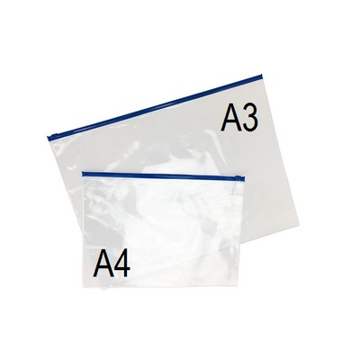 Picture of PVC Document Holder A4 Printed - Stock A
