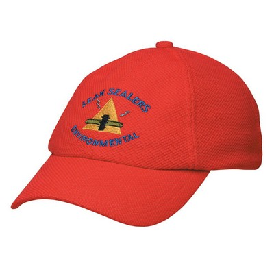 Picture of PQ Mesh Plain Sandwich Design Cap