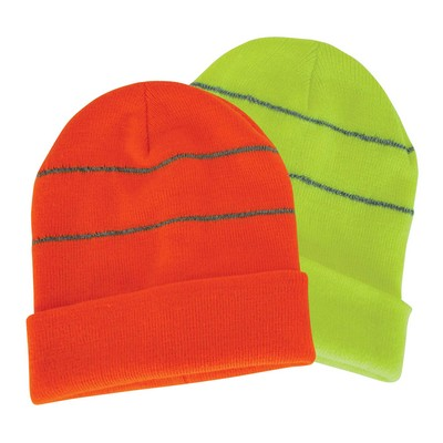 Picture of Beanie with reflective trims