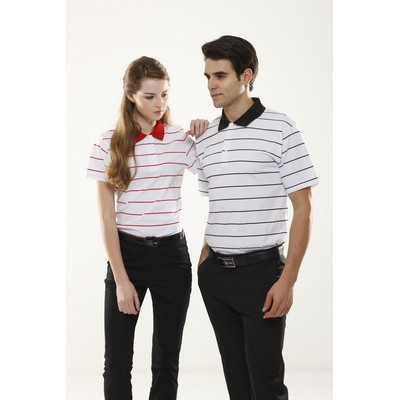 Picture of Stripes Polo- Ladies