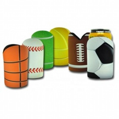 Picture of Sublimated Sports Ball Cooler with Base