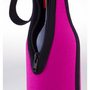 Zip up wine bottle cooler