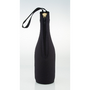 Zip up champagne bottle cooler