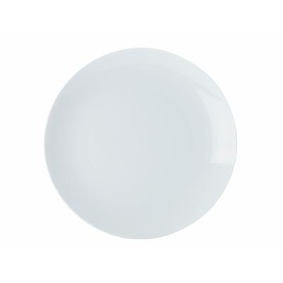 Picture of White Basics Coupe Entrée Plate