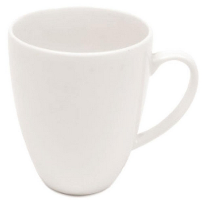 Picture of White Basics Coupe Mug - White