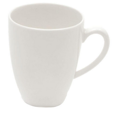 Picture of White Basics Bullet Mug - White