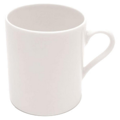 Picture of White Basics Cylindrical Mug  - White