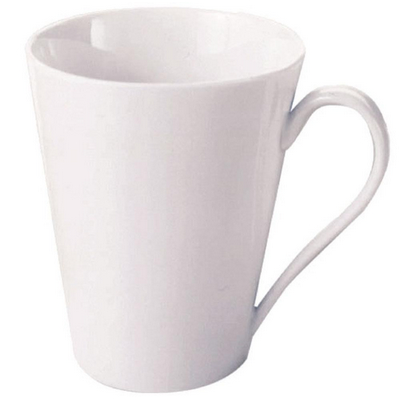 Picture of White Basics Conical Mug - White