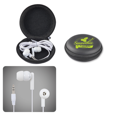 Picture of Earbud / Headphone Set in Round EVA