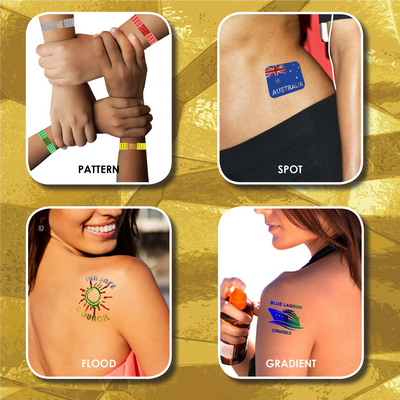 Picture of Prism Foil Temporary Tattoos®