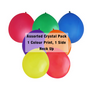 30cm Crystal Balloon - Neck Up - AssortedBalloons