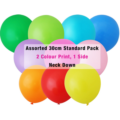 Picture of 30cm Standard Balloon - Neck Down - Asso