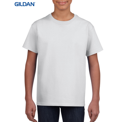 Picture of Gildan Ultra Cotton Youth T-Shirt White