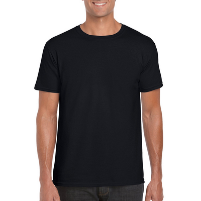 Picture of Gildan Softstyle Adult T-Shirt Black