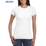 Gildan Softstyle Ladies T-Shirt White