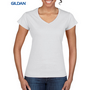 Gildan Softstyle Ladies V-Neck T-Shirt W