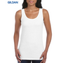 Gildan Softstyle Ladies Tank Top White