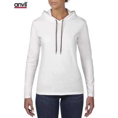 Picture of Anvil Women's Lightweight Long Sleeve Ho