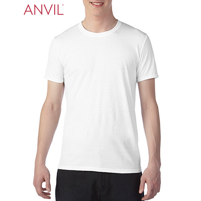 Picture of Anvil Adult Tri-Blend Tee White