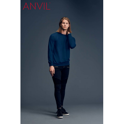 Picture of Anvil Adult Crewneck French Terry