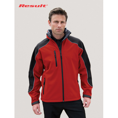 Picture of Result Hooded Soft Shell Jacket