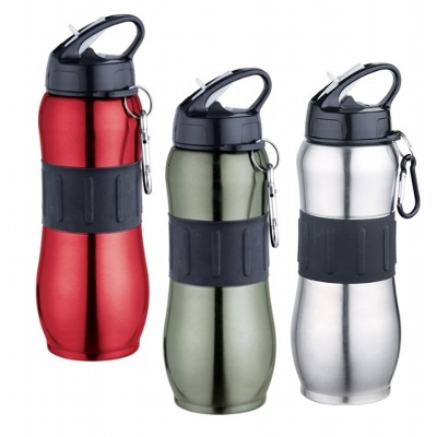 Picture of Sport Drink Bottle With Carabiner - Bpa