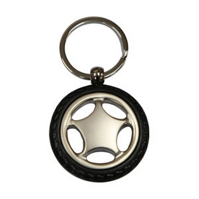 Picture of Wheel Shape Key Ring