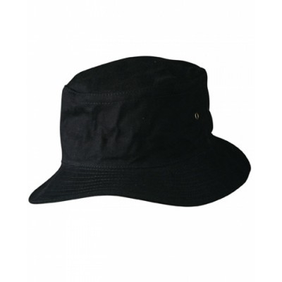 Picture of Heavy brushed cotton bucket hat