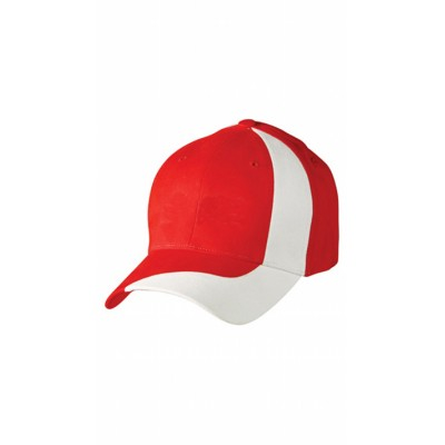 Picture of Brushed Cotton Twill Baseball Cap With C