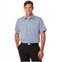 Mens Fine Chambray Short Sleeve Shirt